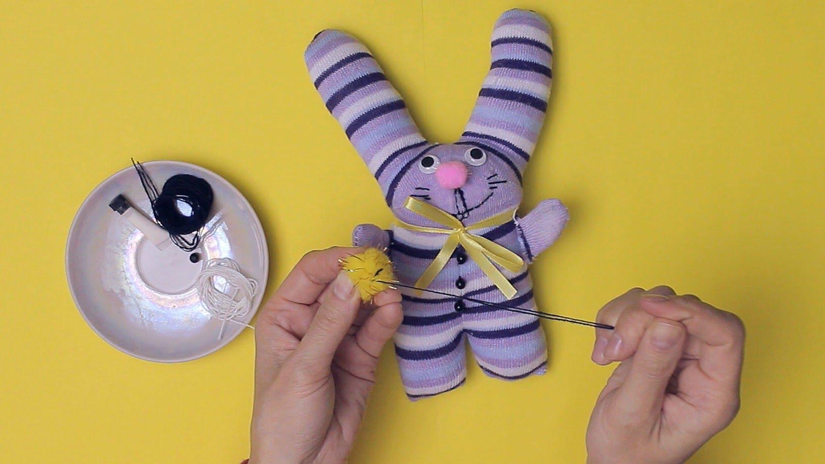 Заяц из носка
