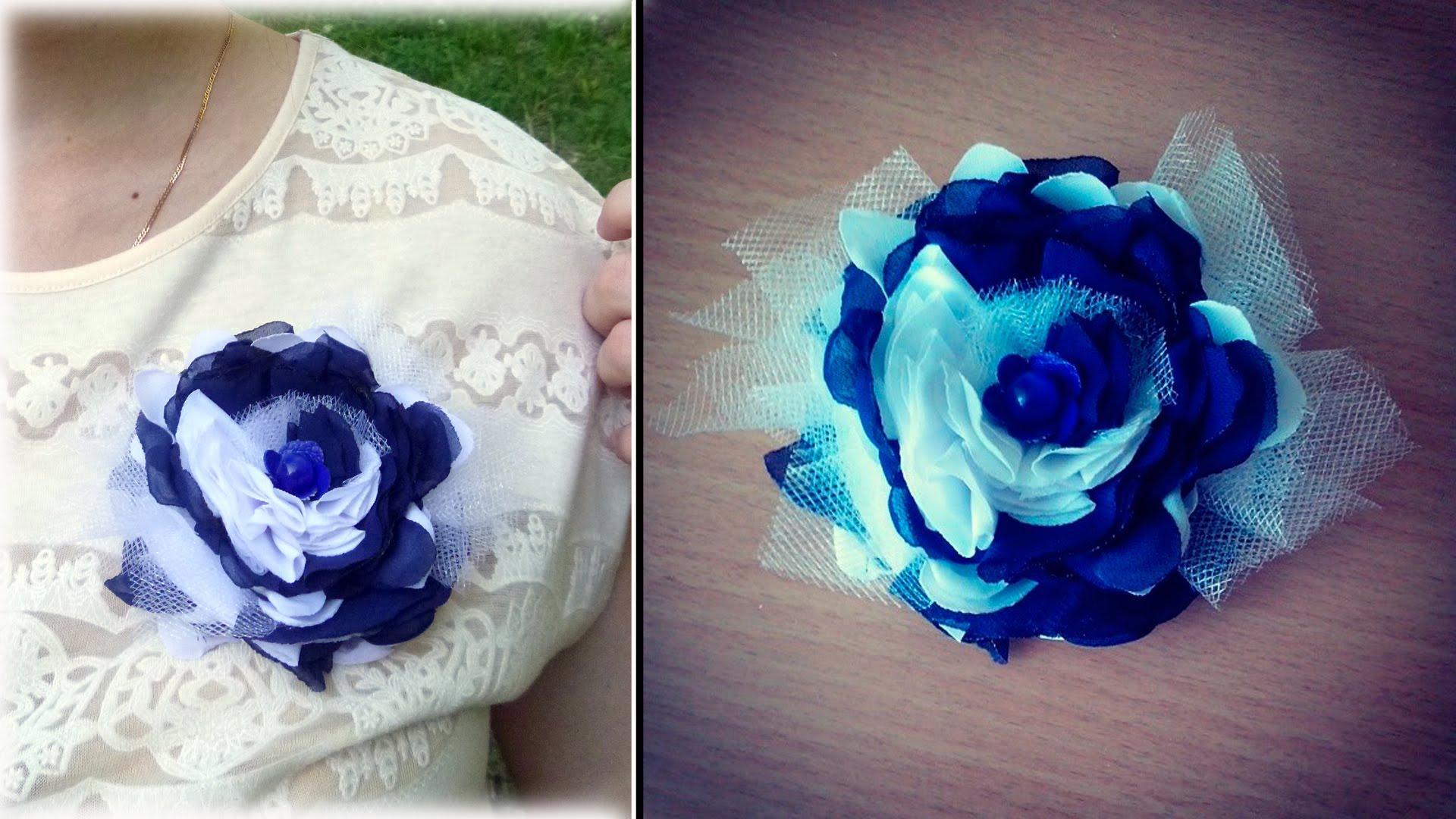 Как сделать украшение-цветок своими руками