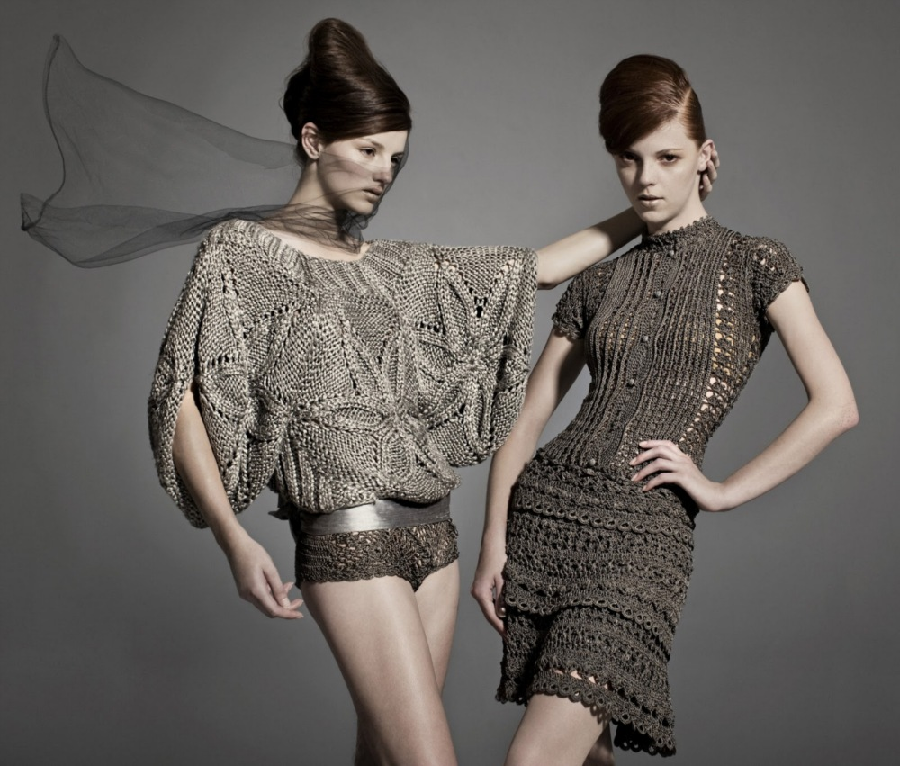 Мастер-класс платья от Ванессы Монторо крючком