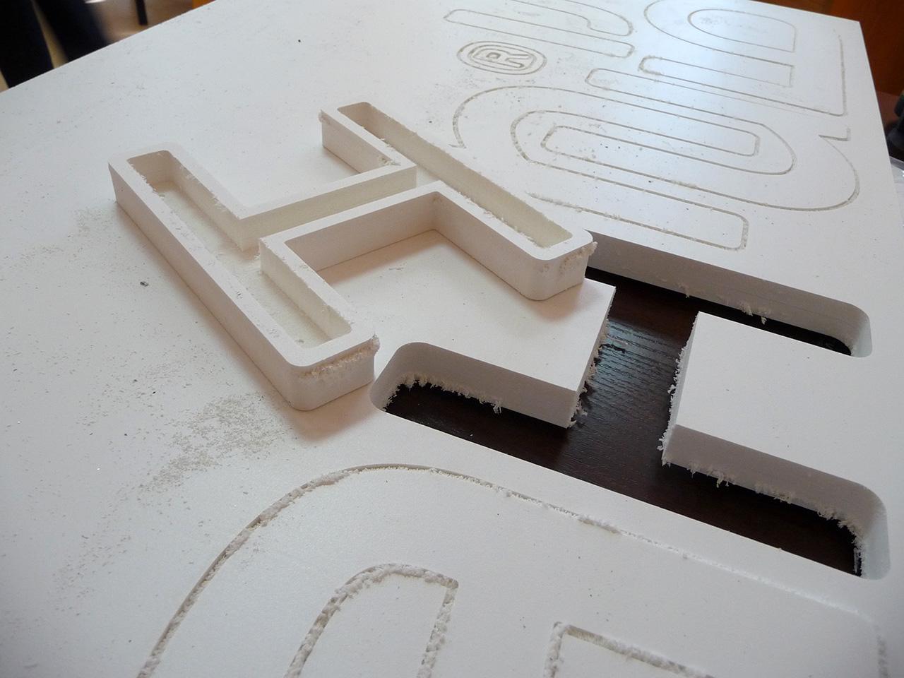 Как сделать объемные буквы своми руками. Шаблон