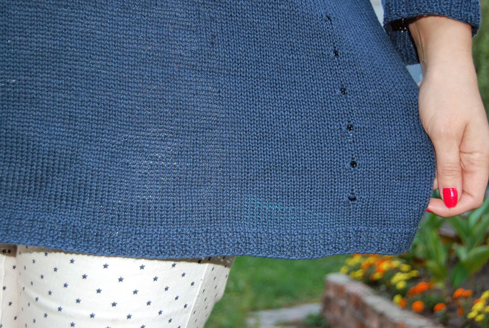 Переделываем пуловер в топ