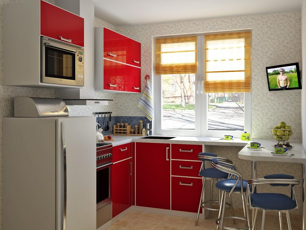 Дизайн-проект малогабаритных кухонь
