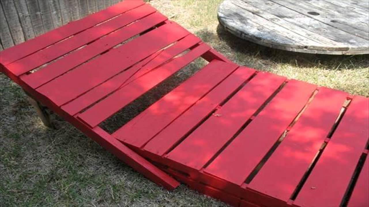 Мастерим кресло из деревянной паллеты