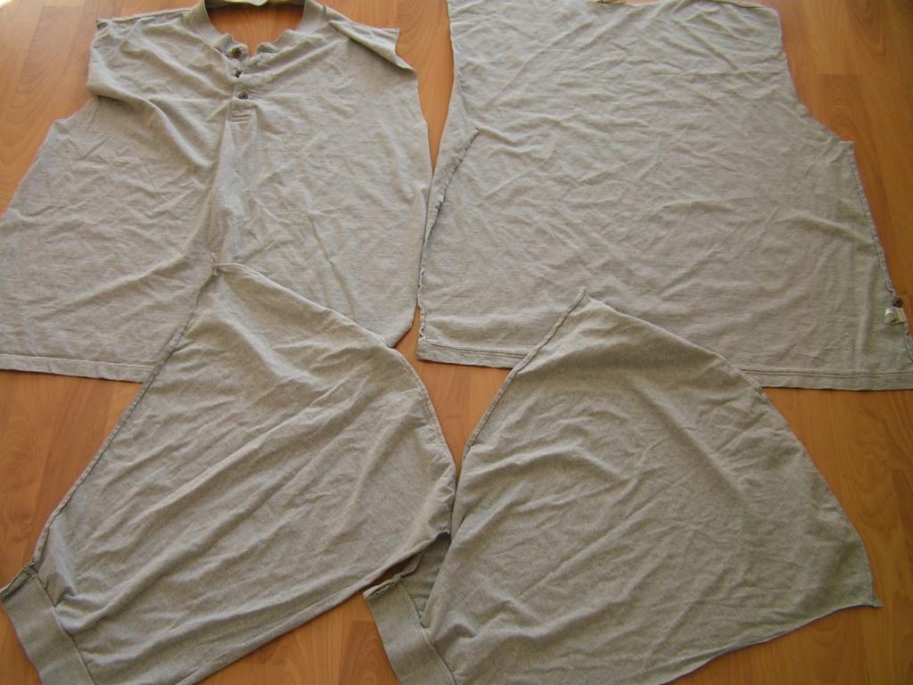 Как пределать футболку в стильный жилет