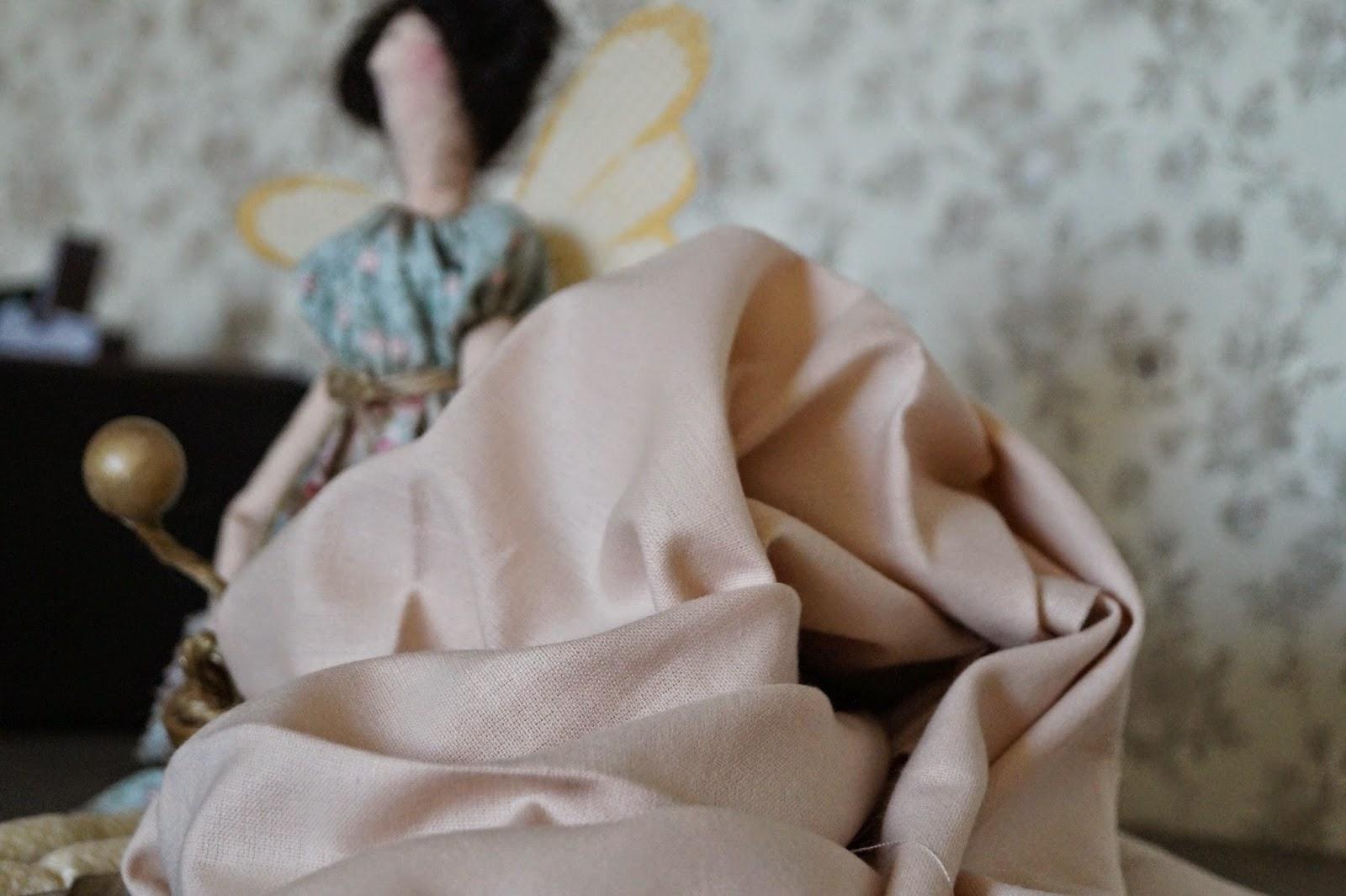 Как и чем покрасить ткань в телесные цвета для пошива ТИЛЬДЫ