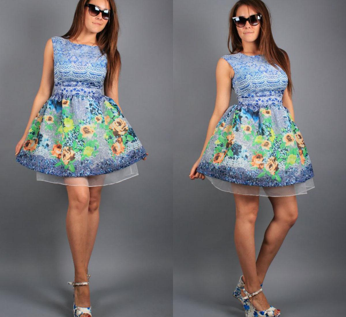Шьем платье с пышной юбкой