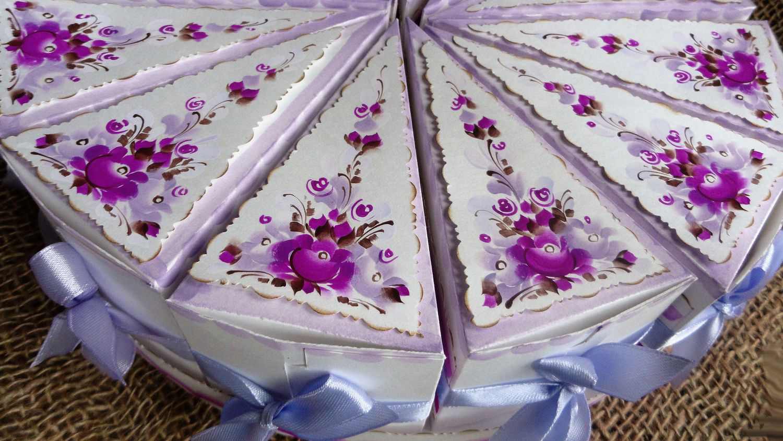 Бонбоньерки — торт