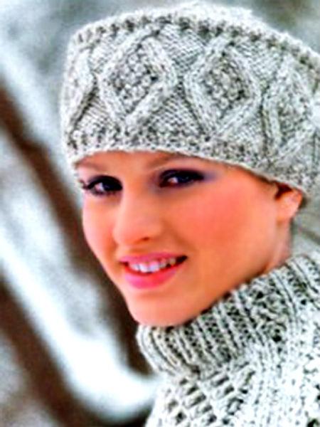 шапка кубанка спицами для женщин с подробным описанием схемы