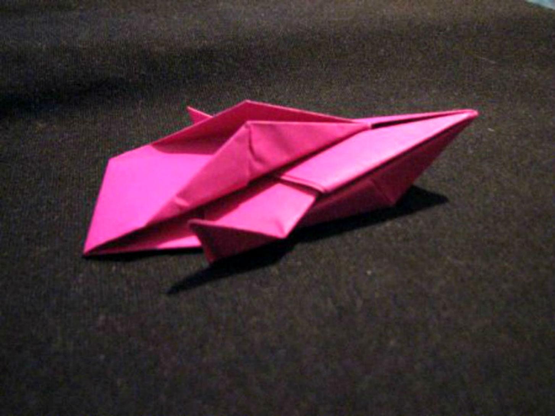 Как сделать космический корабль из бумаги своими руками