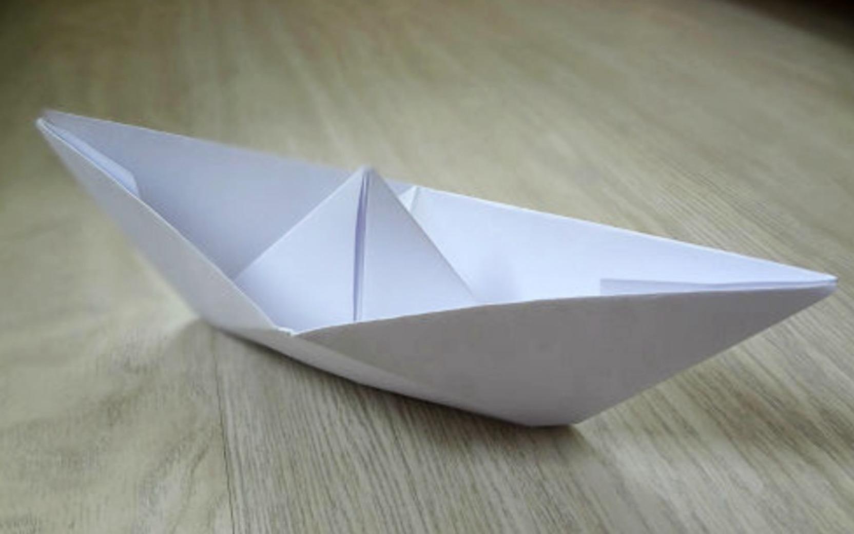 Как сделать корабль из бумаги своими руками