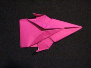 космический корабль из бумаги своими руками
