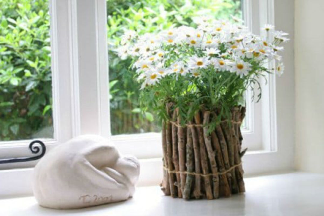 Как сделать кашпо для цветов своими руками для сада