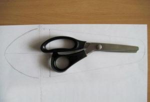 Чехол для ножниц своими руками