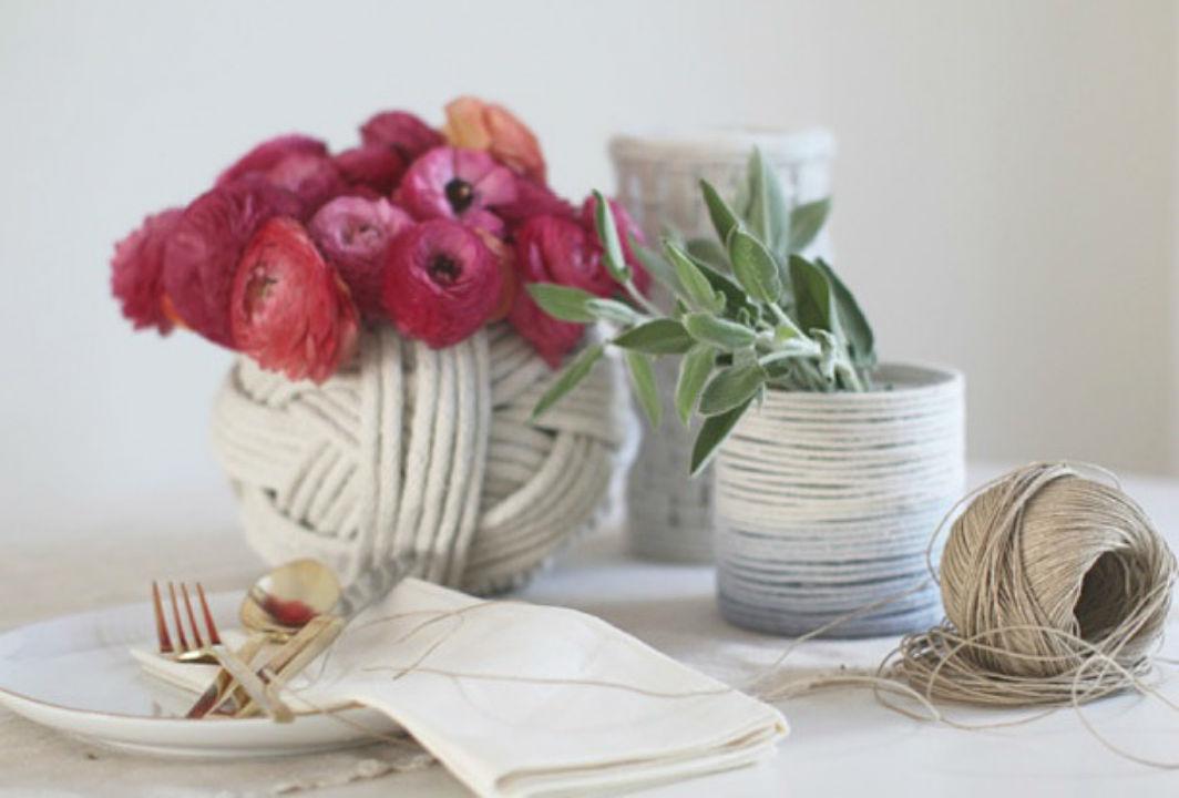 Как сделать вазу в морском стиле