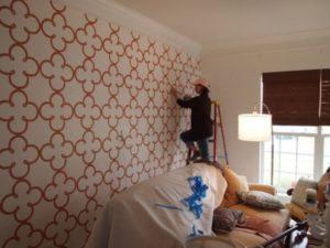 Трафареты для стен для декора и под покраску