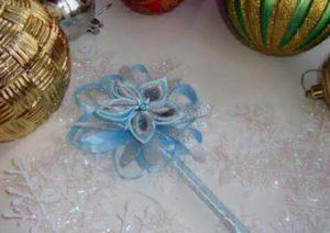 Новогодняя корона и волшебная палочка