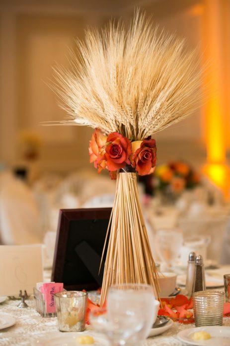 Букет из злаковых для декора стола
