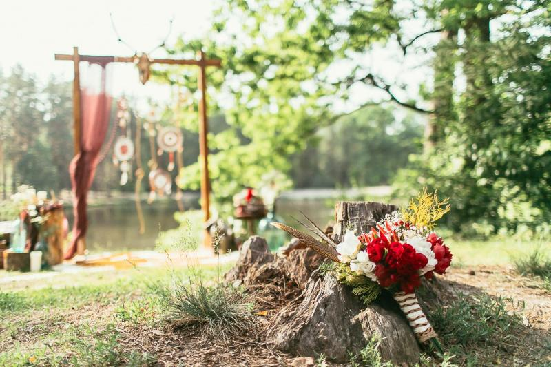 50 идей оформления свадьбы в стиле Бохо