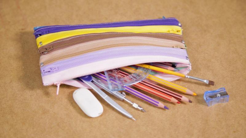 Как сделать пенал для школы своими руками: 5 простых мастер-классов