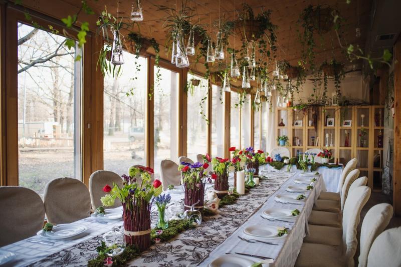 50 идей оформления свадьбы в стиле Рустик