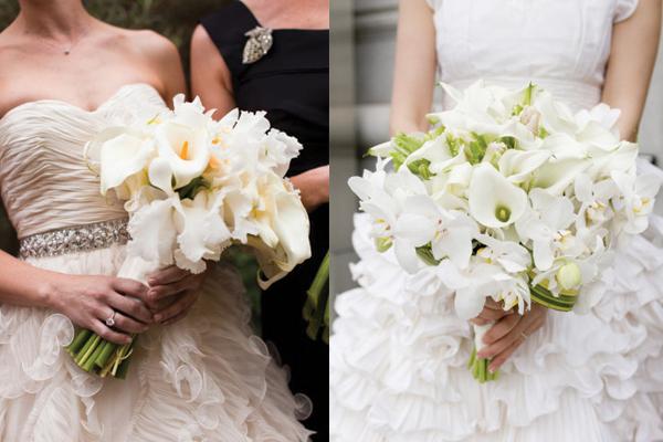 Букет невесты на руку