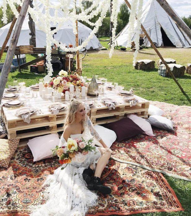 Идея свадьбы в стиле бохо