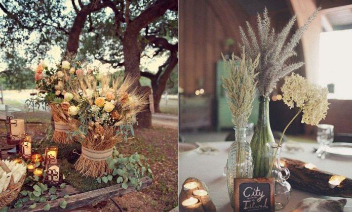 Идеи декора для свадьбы в стиле бохо