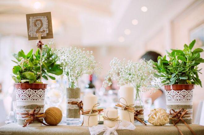 Свадебный декор в рустикальном стиле