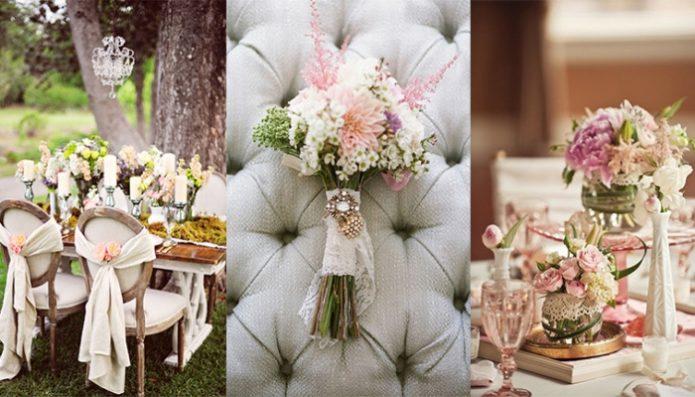 Букеты невесты в рустикальном стиле