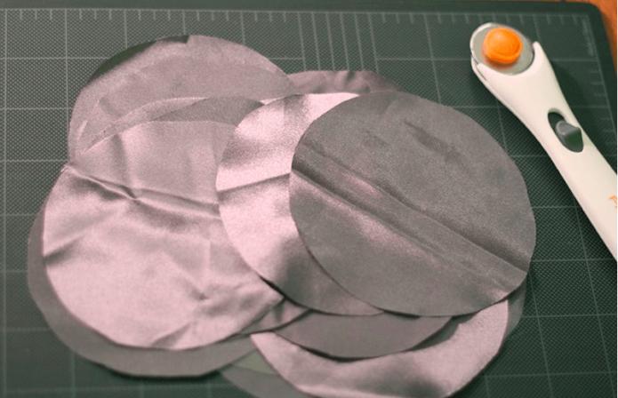 Круглые шаблоны для цветов