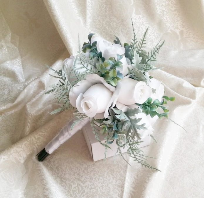 Дублирующий букет невесты