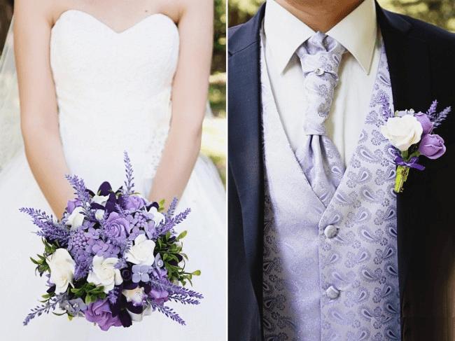 Стиль Прованс для жениха и невесты