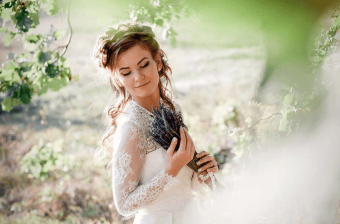 Образ невесты на свадьбу в стиле Прованс