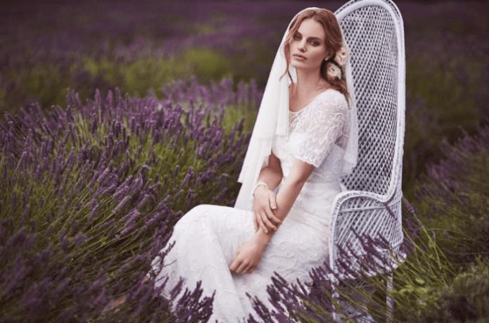 Образ невесты в стиле Прованс