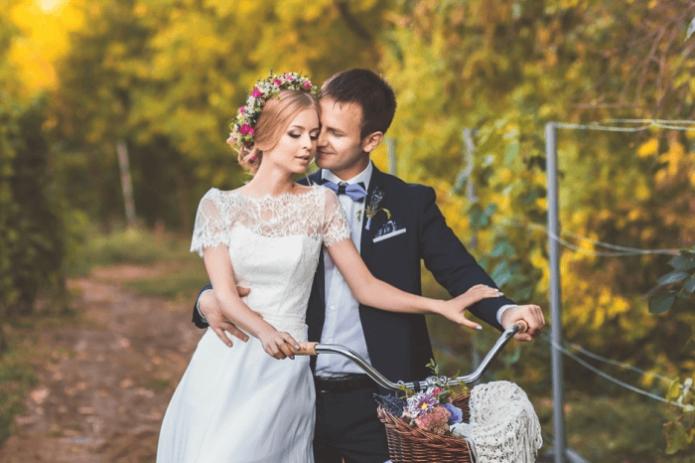 Фотосессия жениха и невесты в стиле Прванс
