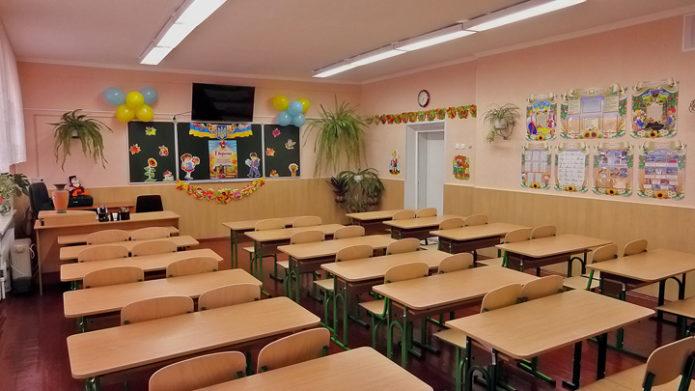 Украшение класса на 1 сентября