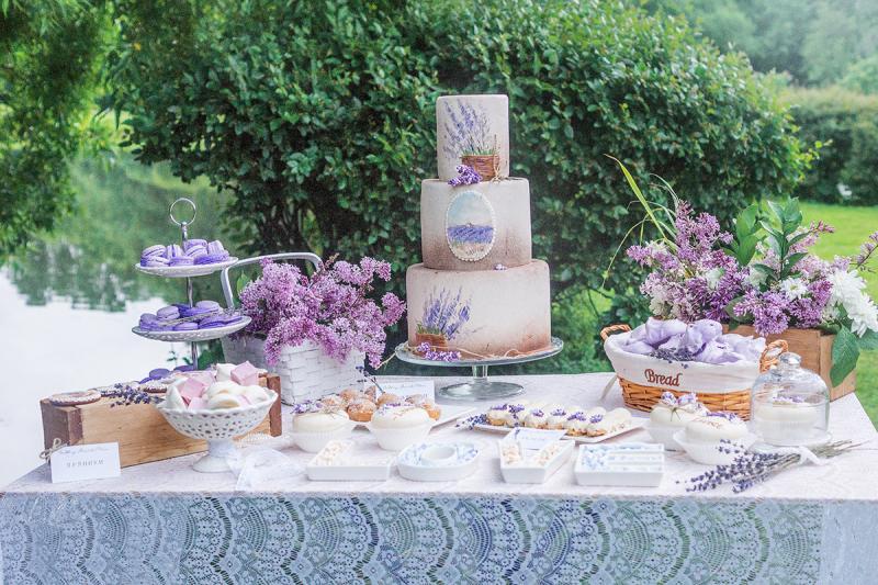 50 идей оформления свадьбы в стиле Прованс на фото