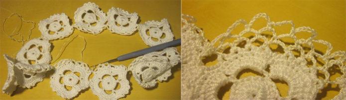 Вязание подвязки для невесты