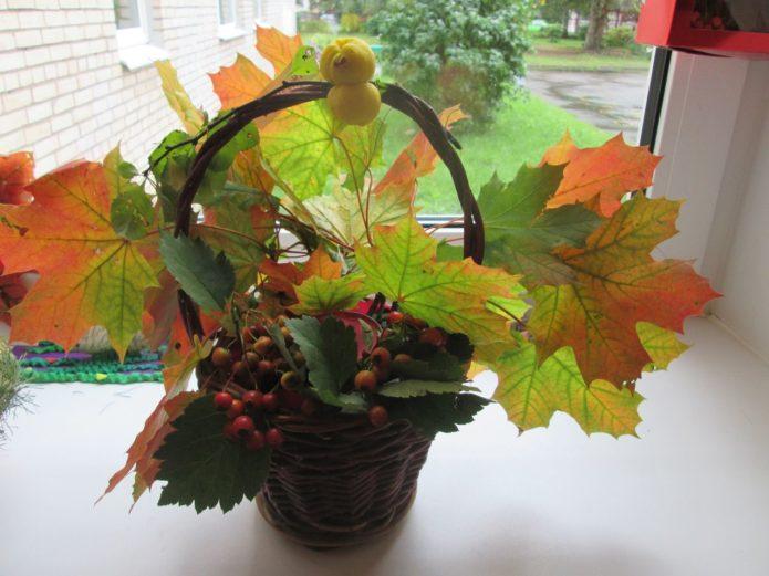 Украшение школы к празднику осени