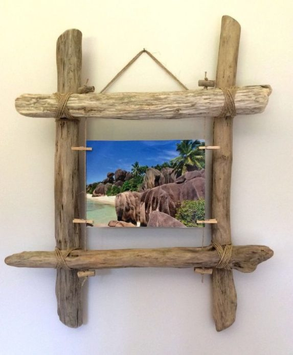 Оригинальная настенная рамка для фото