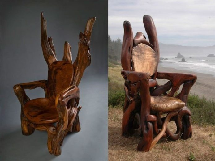 Кресла из коряг
