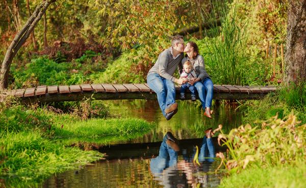 Осенняя фотосессия для семьи