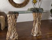 Журнальный столик с ножками из веток