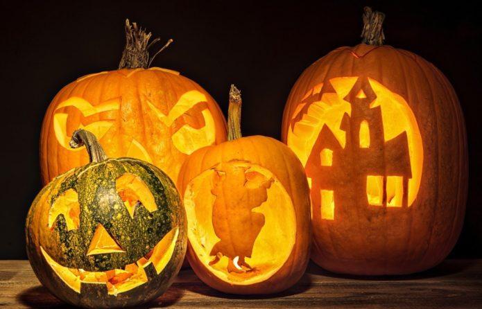 Декор из тыквы к Хэллоуину
