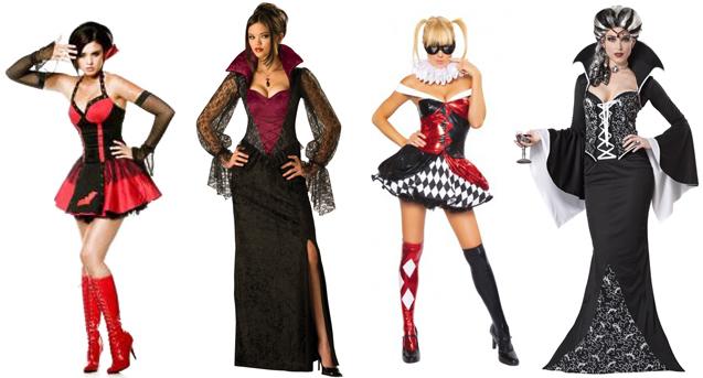 Варианты костюмов для девушек на Хэллоуин