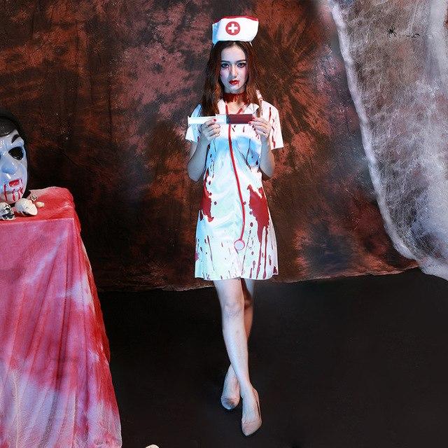 Костюм медсесты на Хэллоуин