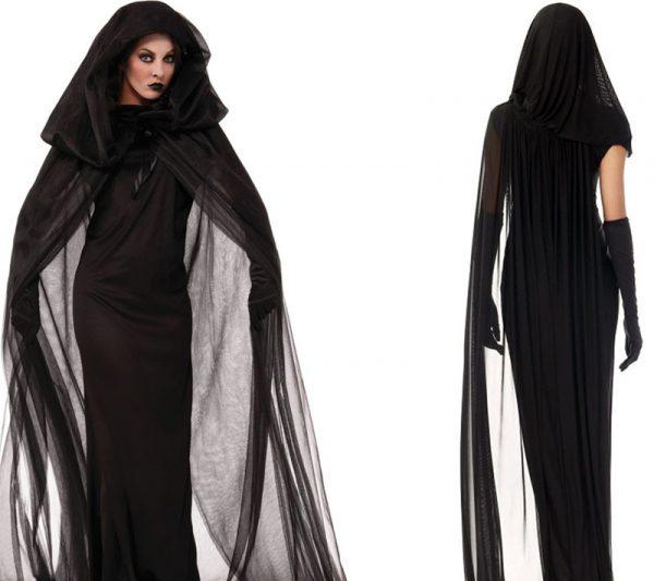 Костюм черной ведьмы на Хэллоуин