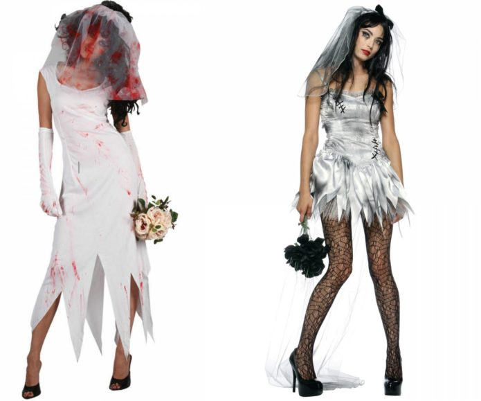Костюм невесты на Хэллоуин