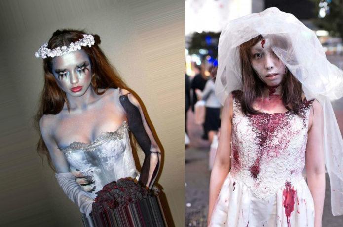 Костюмы невест на Хэллоуин