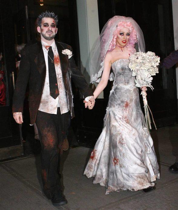 Костюмы жениха и невесты на Хэллоуин